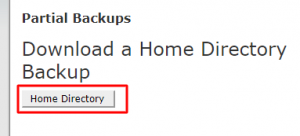 cpanel-backup-homedir